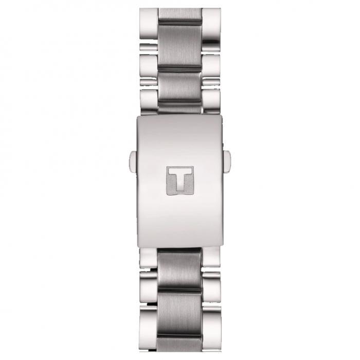 SKU-32207 / TISSOT T-Sport Chrono XL Chronograph Silver Stainless Steel Bracelet