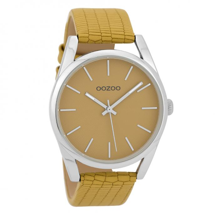 SKU-32294 / OOZOO Timepieces Yellow Leather Strap