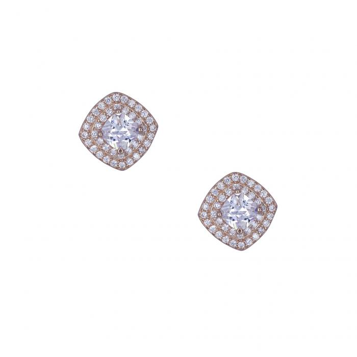 SKU-32660 / Σκουλαρίκια Ασήμι 925° Ζιργκόν