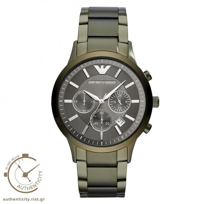 SKU-33336 / EMPORIO ARMANI Olive Stainless Steel Bracelet