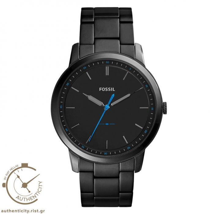 SKU-33196 / FOSSIL The Minimalist Black Stainless Steel Bracelet