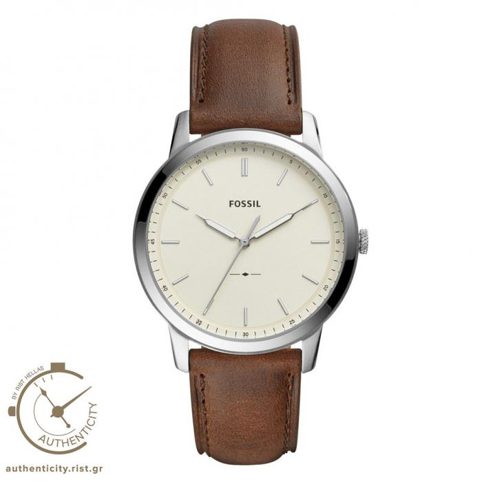 SKU-33098 / FOSSIL The Minimalist Brown Leather Strap