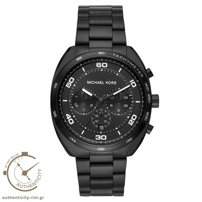 SKU-33759 / MICHAEL KORS Chronograph Black Stainless Steel Bracelet