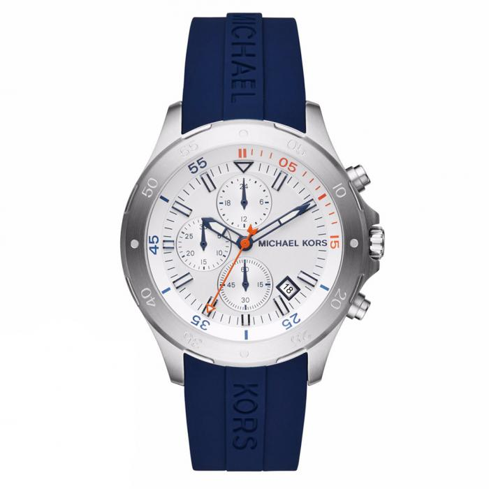 SKU-33805 / MICHAEL KORS Chronograph Blue Silicone Strap