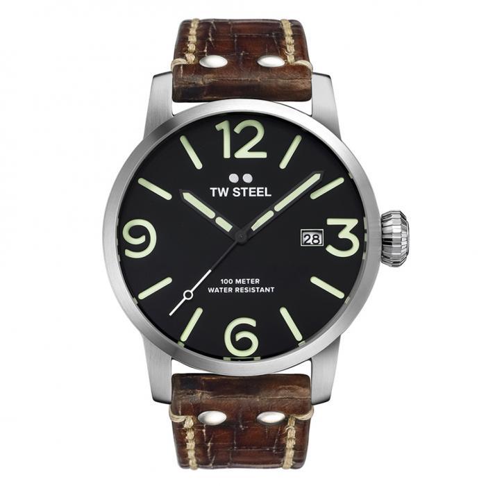 SKU-33979 / TW STEEL Maverick Brown Leather Strap