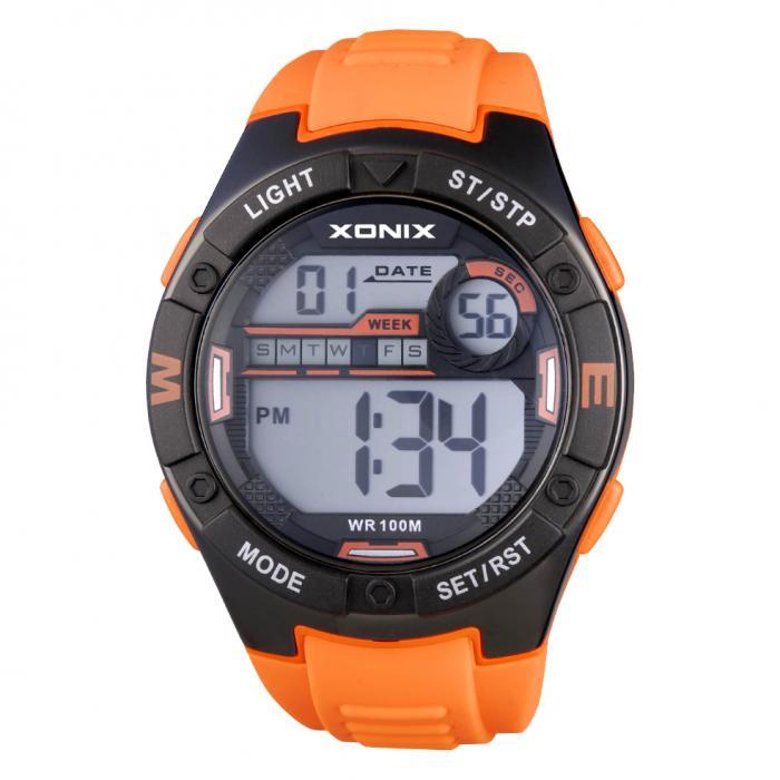 SKU-33666 / XONIX Digital Orange Silicone Strap