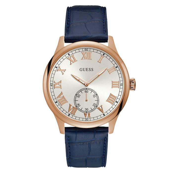 SKU-34400 / GUESS Blue Leather Strap
