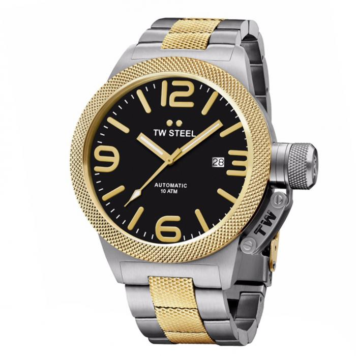 SKU-34239 / TW STEEL Canteen Automatic Two Tone Stainless Steel Bracelet
