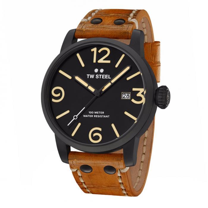 SKU-34256 / TW STEEL Maverick Brown Leather Strap