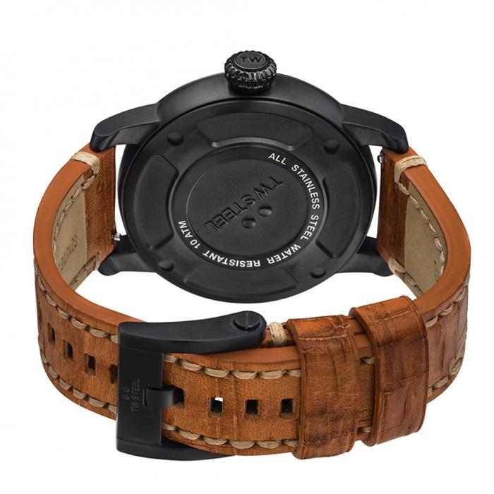 SKU-34330 / TW STEEL Maverick Brown Leather Strap