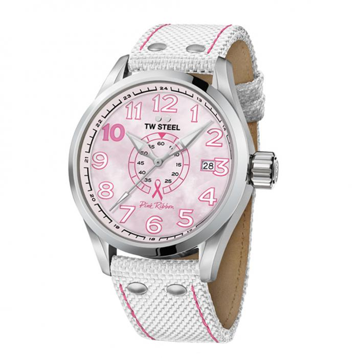SKU-34159 / TW STEEL Pink Ribbon Special Edition Watch