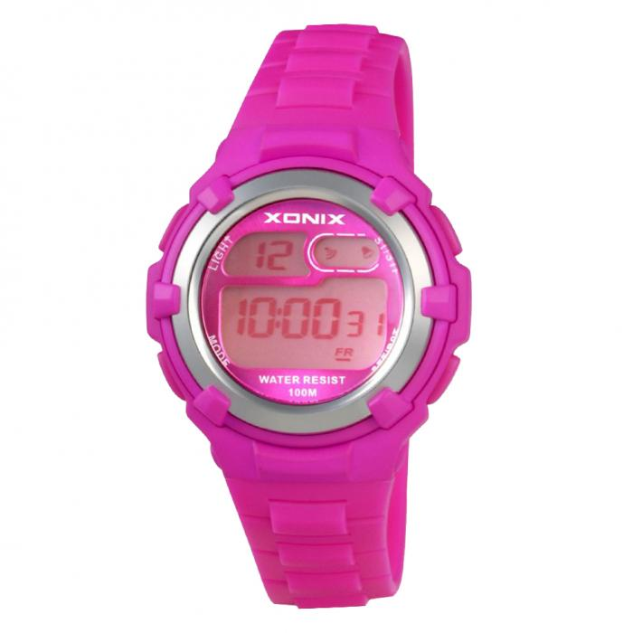 SKU-34925 / XONIX Digital Fuchsia Rubber Strap
