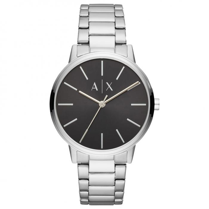 SKU-35531 / ARMANI EXCHANGE Silver Stainless Steel Bracelet