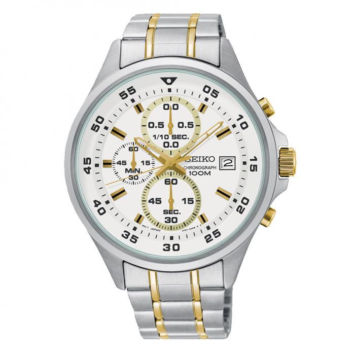 SKU-35875 / SEIKO Chronograph Stainless Steel Bracelet