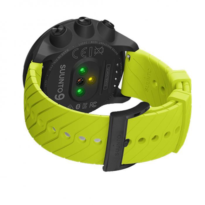 SKU-35794 / SUUNTO 9 Lime Silicone Strap