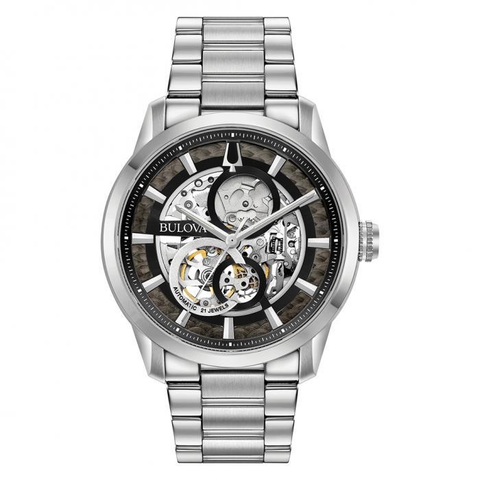 SKU-36679 / BULOVA Mechanical Collection Automatic Silver Stainless Steel Bracelet