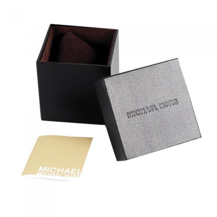 SKU-36826 / MICHAEL KORS Merrick Chronograph Black Leather Strap