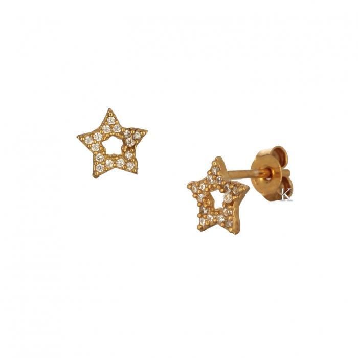 SKU-36709 / Σκουλαρίκια Ασήμι 925° με Ζιργκόν