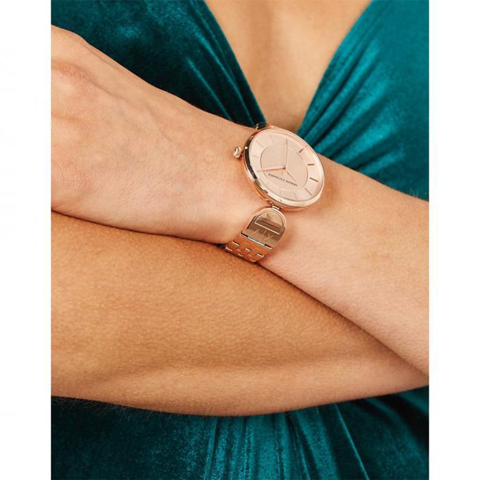 SKU-37225 / ARMANI EXCHANGE Brooke Rose Gold Stainless Steel Bracelet