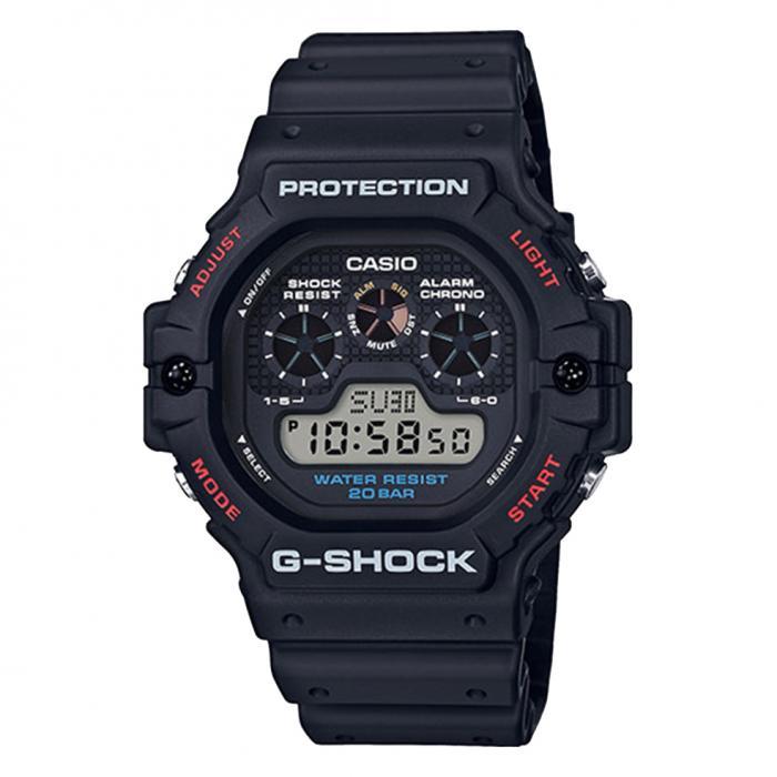 SKU-37734 / CASIO G-Shock Black Rubber Strap