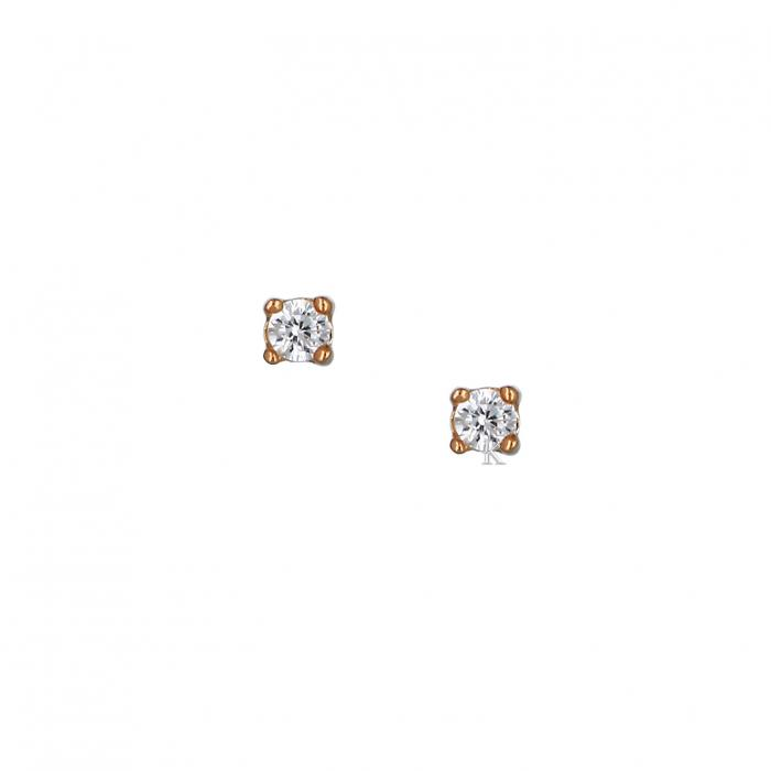 SKU-37046 / Σκουλαρίκια Ασήμι 925° με Ζιργκόν