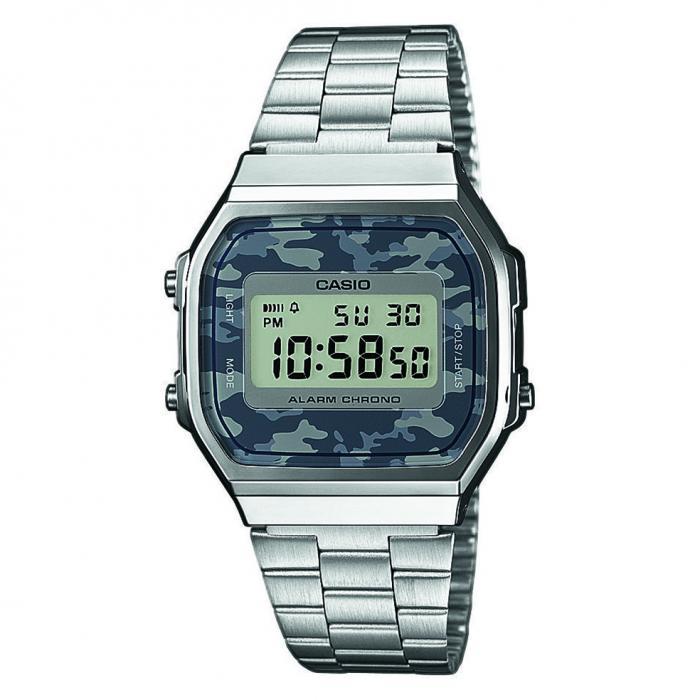 SKU-38221 / CASIO Camouflage Stainless Steel Bracelet