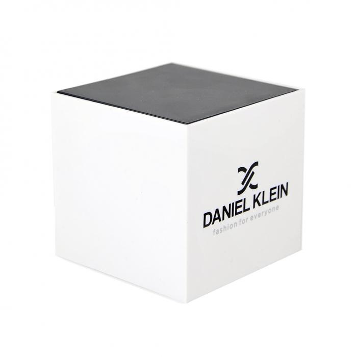 DANIEL KLEIN Crystals Premium Silver Stainless Steel Bracelet