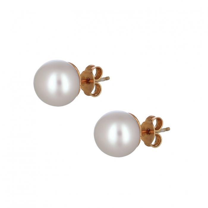 SKU-38444 / Σκουλαρίκια Ασήμι 925° με Μαργαριτάρια