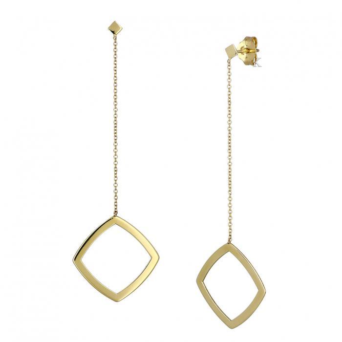 SKU-38883 / Σκουλαρίκια Χρυσός Κ14