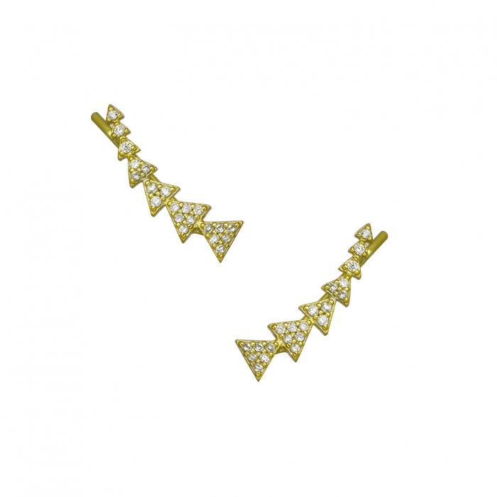 SKU-38547 / Σκουλαρίκια Ασήμι 925°