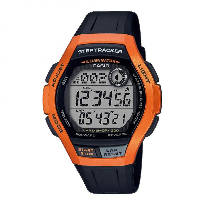 SKU-39393 / CASIO Collection Digital Black Rubber Strap