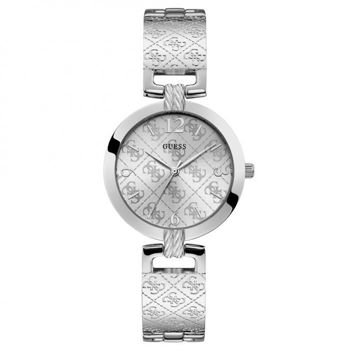 SKU-39085 / GUESS Silver Stainless Steel Bracelet