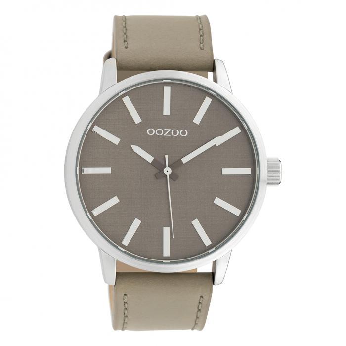 SKU-39553 / OOZOO Timepieces Beige Leather Strap