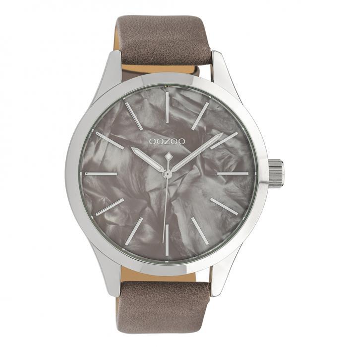 SKU-39843 / OOZOO Timepieces Brown Leather Strap