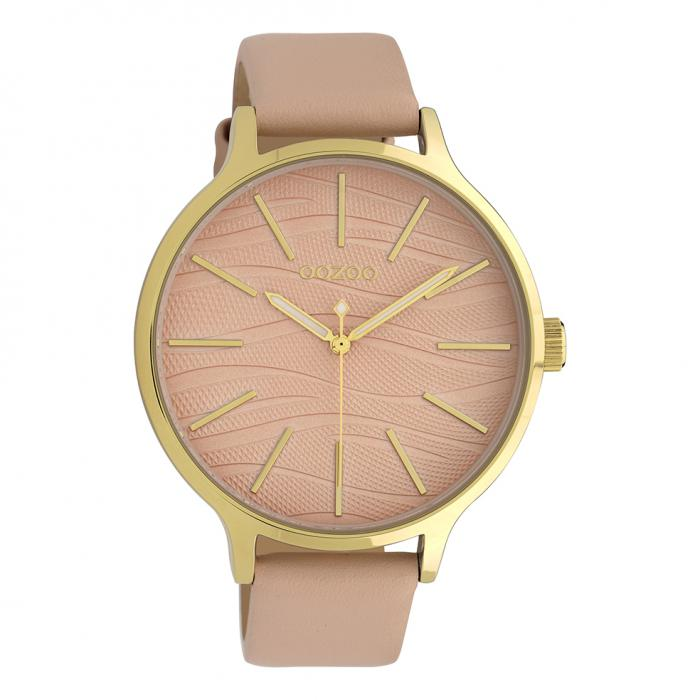 SKU-39884 / OOZOO Timepieces Pink Leather Strap