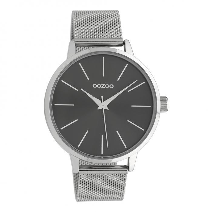 SKU-39452 / OOZOO Timepieces Silver Metallic Bracelet
