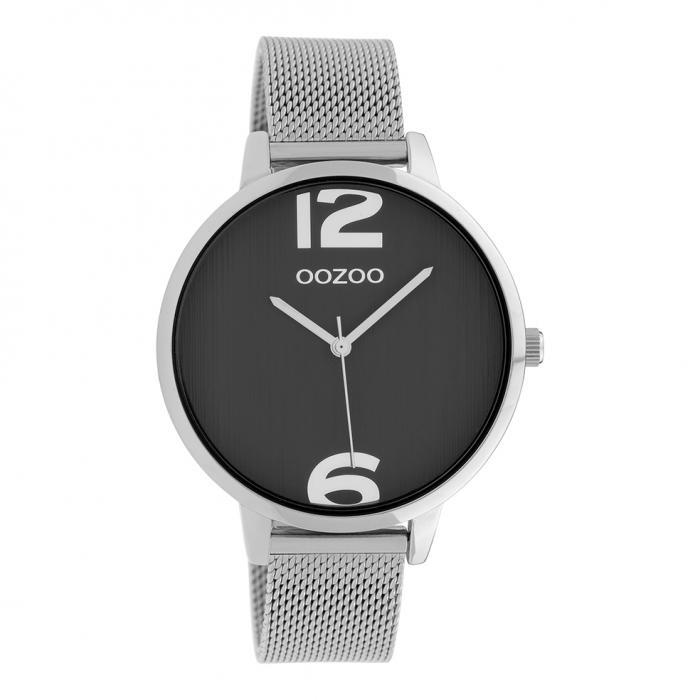 SKU-39913 / OOZOO Timepieces Silver Metallic Bracelet