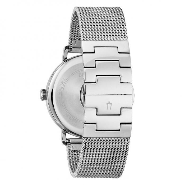 SKU-40561 / BULOVA Classic Aerojet Collection Silver Stainless Steel Bracelet