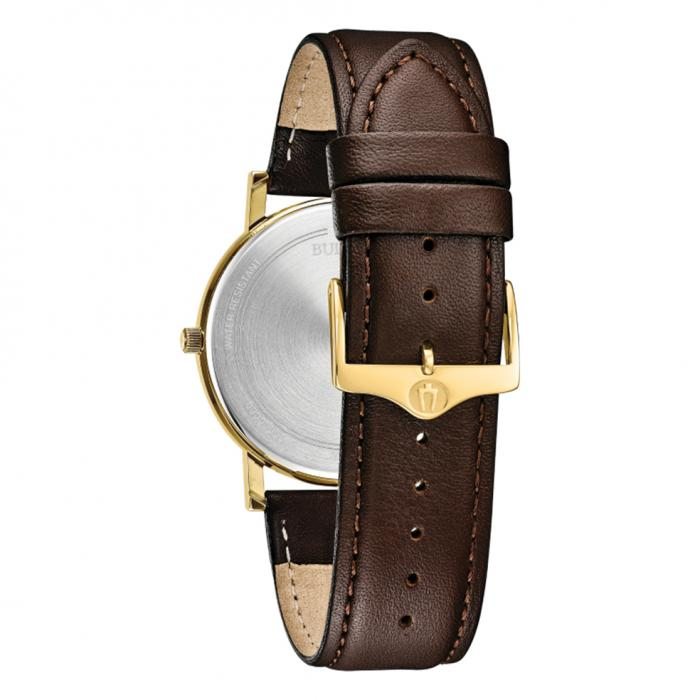 SKU-40564 / BULOVA Classic Brown Leather Strap