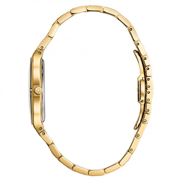 SKU-40514 / BULOVA Diamond Gold Stainless Steel Bracelet