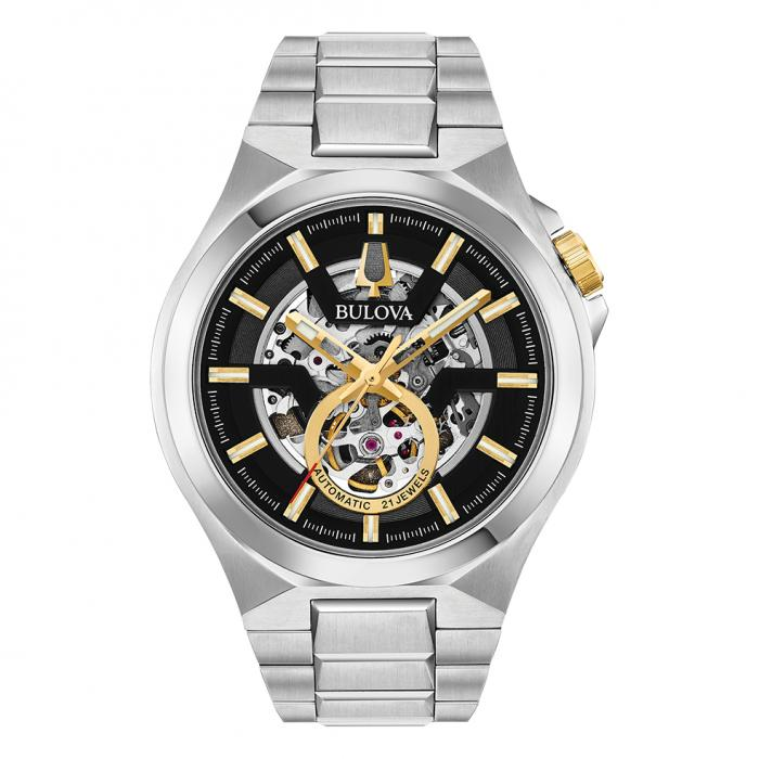 SKU-40453 / BULOVA Mechanical Automatic Silver Stainless Steel Bracelet