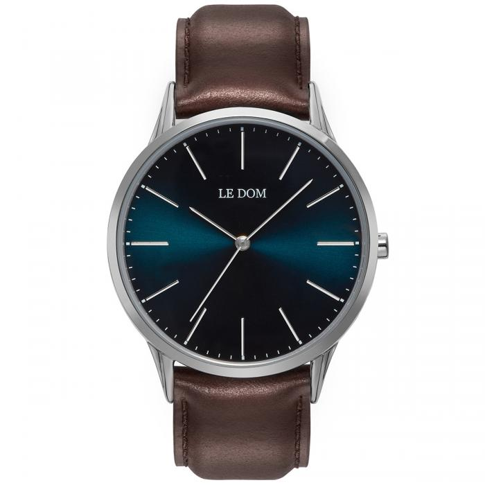 SKU-40171 / LE DOM Classic Collection Brown Leather Strap
