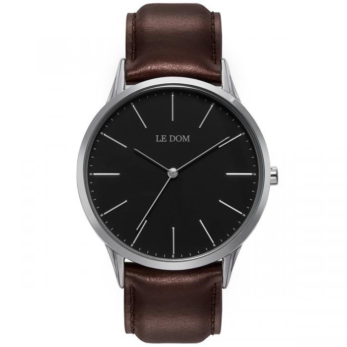 SKU-40178 / LE DOM Classic Collection Brown Leather Strap