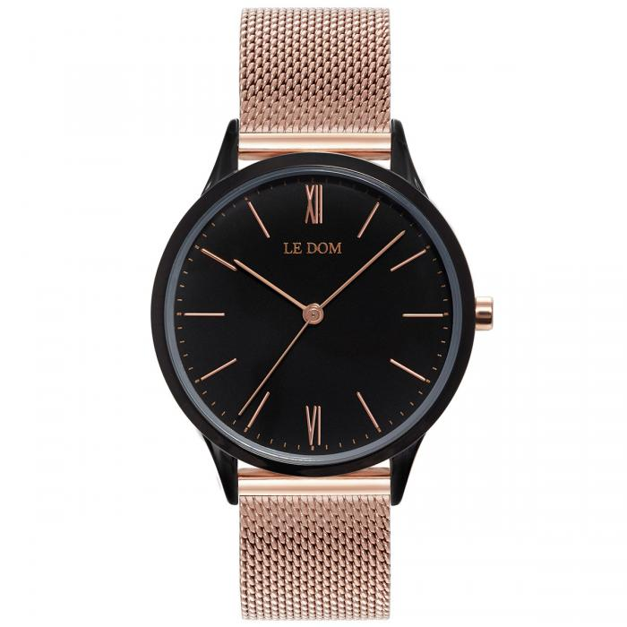LE DOM Classic Rose Gold Stainless Steel Bracelet