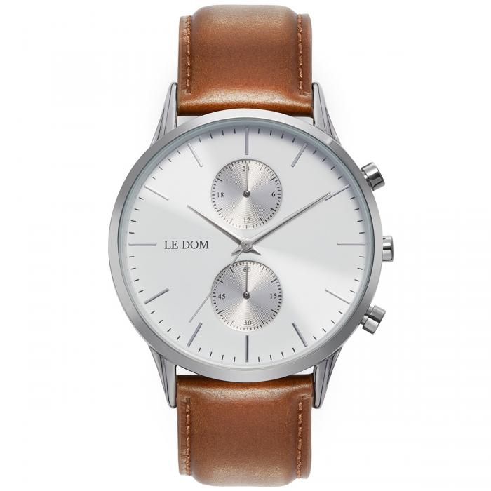 SKU-40173 / LE DOM Prime Collection Brown Leather Strap