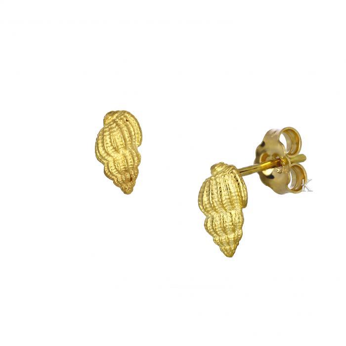 SKU-40918 / Σκουλαρίκια Χρυσός Κ14
