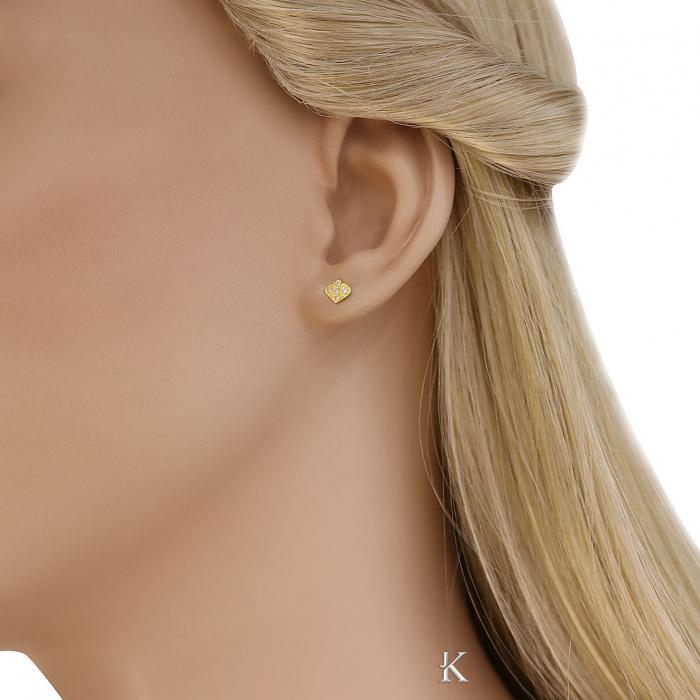 SKU-40912 / Σκουλαρίκια Χρυσός Κ14