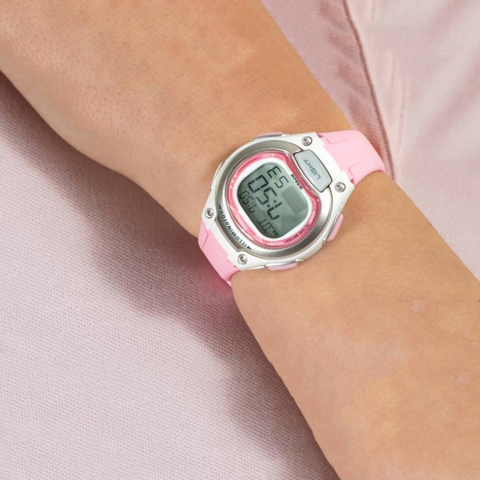 SKU-41302 / CASIO Collection Chronograph Pink Rubber Strap