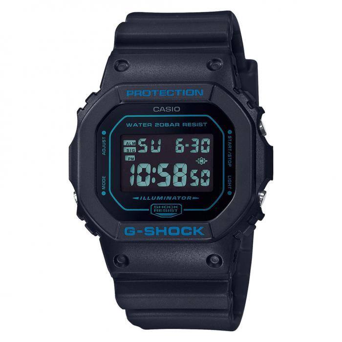 SKU-41143 / CASIO G-Shock Chronograph Black Rubber Strap