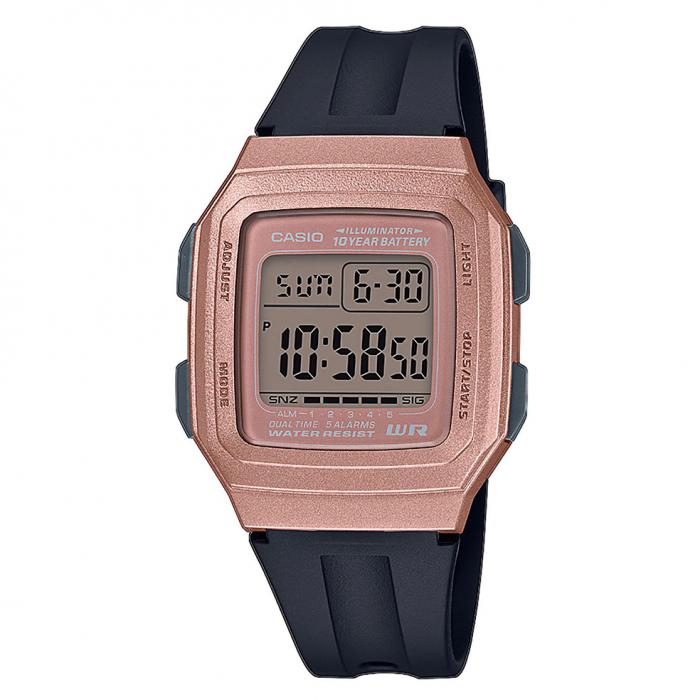 SKU-41161 / CASIO Standard Black Rubber Strap